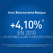 BOURSORAMA BANQUE : Assurance vie 3,62% en 2012