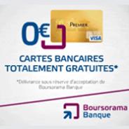BOURSORAMA : La carte VISA gratuite et 30 euros offerts