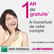 LA NET AGENCE : Le compte courant gratuit pendant 1 an