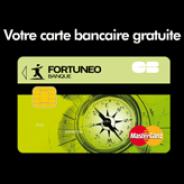 FORTUNEO : Une banque en ligne avec la carte MasterCard gratuite et le compte sans frais