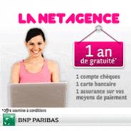 LA NET AGENCE : Votre carte bleue gratuite et votre compte sans frais pendant 1 an