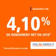 ING Direct : L'assurance-vie en gestion sous mandat à partir de 5000 euros et 80 euros offerts