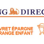 Livret Epargne Orange Enfant par ING DIRECT : 4% garantis pendant 3 mois
