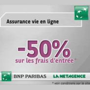 LA NET AGENCE : 50% sur les frais d'entrée pour l'assurance-vie
