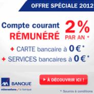 AXA BANQUE : Compte courant rémunéré 2% par an + la carte bancaire gratuite
