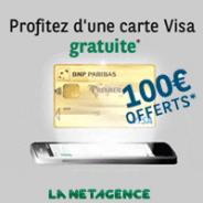 1 an Convention Esprit Libre gratuite à la NET agence : Visa gratuite + 100 euros