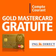 Un compte courant sans frais + la carte bancaire gratuite exclusivement chez ING Direct !