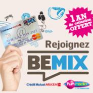 CREDIT MUTUEL : Pack Bemix 1 an de cotisation offerte