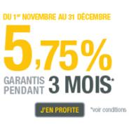 LIVRET EPARGNE RCI Banque : 5,75% brut garantis pendant 3 mois jusqu'à 75 000€ de dépôt