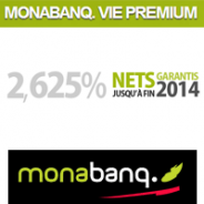 MONABANQ : L'assurance-vie à 2,625% nets garantis jusqu'à fin 2014 !
