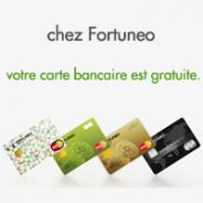 Votre carte bancaire du réseau MasterCard gratuite sans condition de durée chez Fortuneo