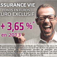 3,32% en 2014 sur le fonds en euros Euro Exclusif de Boursorama Banque