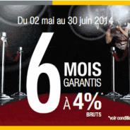 Livret Zesto : 6% brut garantis pendant 4 mois jusqu'à 100 000 € de dépôt