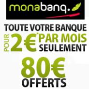 Compte courant TOUT COMPRIS + 80€ offerts !