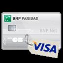 Carte bancaire : VISA BNP NET