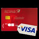 Carte bancaire : VISA CAPITALE