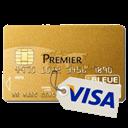 Carte bancaire : VISA PREMIER