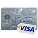 Carte bancaire : VISA PLATINUM